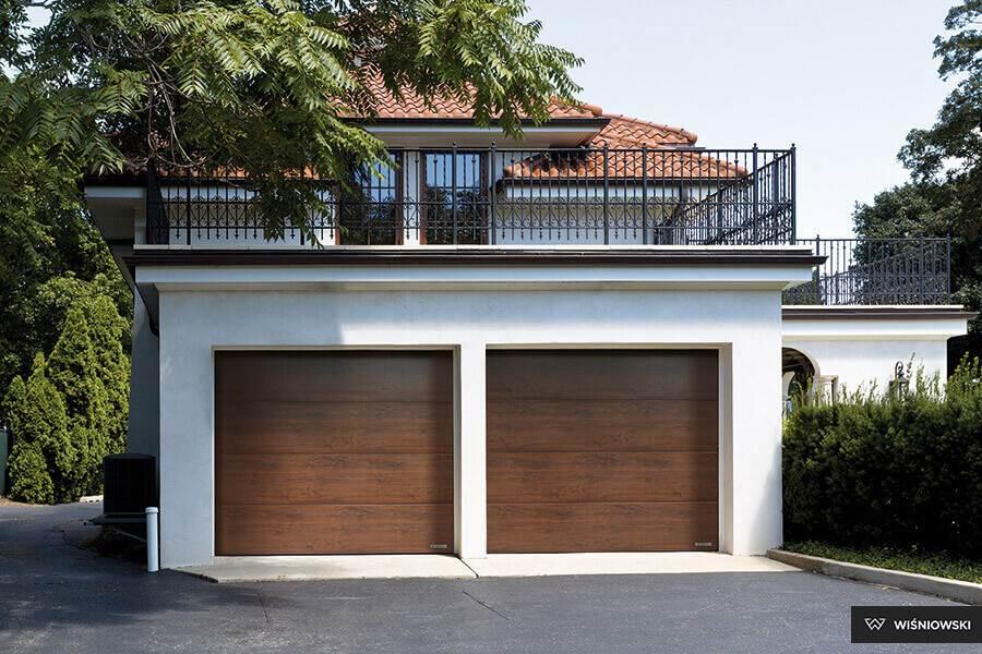 Napędy dobramy garażowej podwójnej - Expert-Ogrodzenia