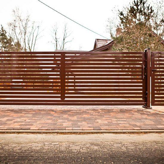 Ogrodzenie palisadowe Sochaczew