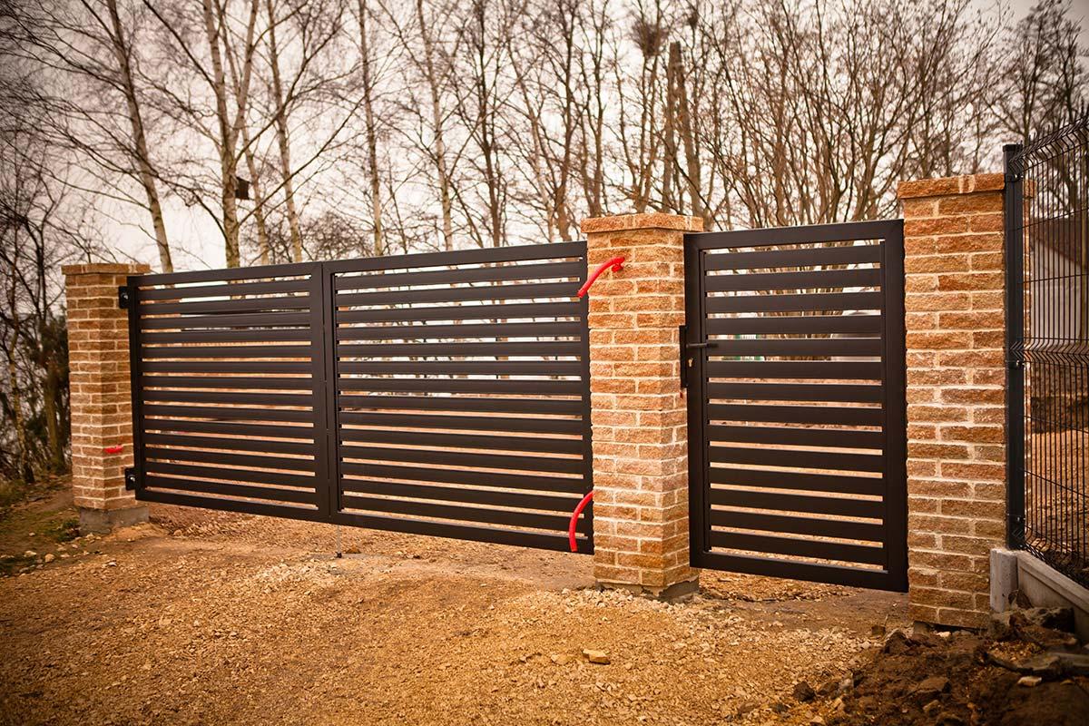 Ogrodzenie palisadowe Mińsk Mazowiecki