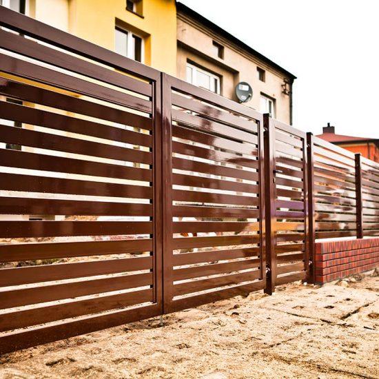 Ogrodzenie palisadowe Warszawa