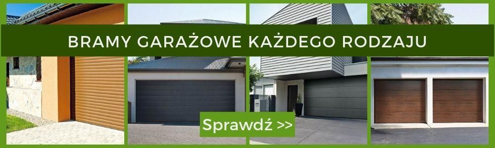 Bramy garażowe - oferta - Expert-ogrodzenia.pl