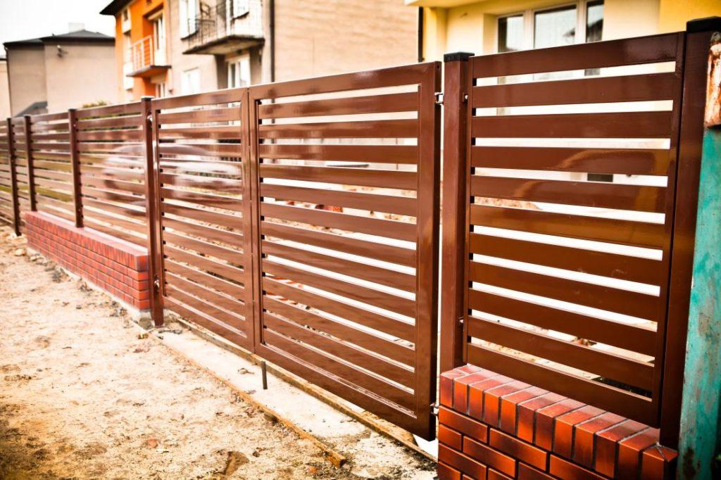 Ogrodzenia palisadowe metalowe