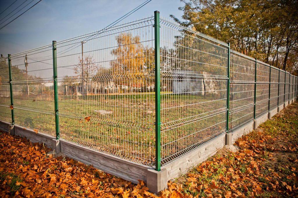 Ogrodzenie panelowe zpodmurówką - Expert-ogrodzenia.pl