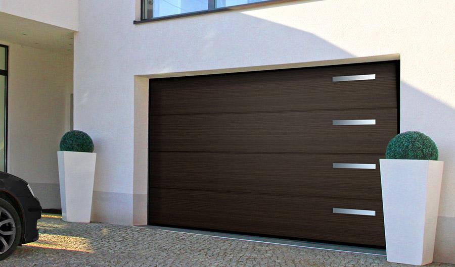 Brama garażowa Wiśniowski - Expert-ogrodzenia
