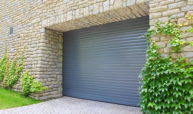 Brama garażowa roletowa - Expert-ogrodzenia