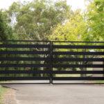 Bramy wjazdowe dwuskrzydłowe - expert-ogrodzenia