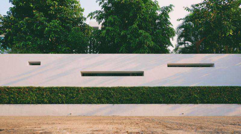 Stylowe ogrodzenie betonowe - Expert-ogrodzenia.pl
